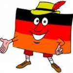 German Flag Man