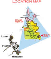 Bislig City Map
